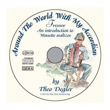 Mit dem Akkordeon um die Welt: Frankreich (CD)