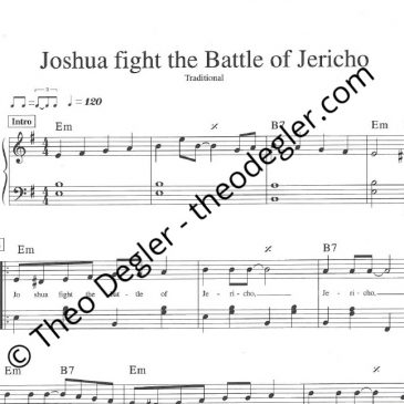 Joshua fight the Battle of Jericho