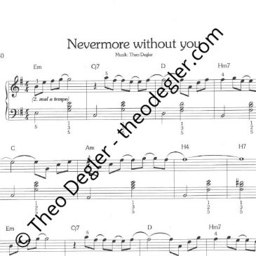 Nevermore Without You (einfache Version)